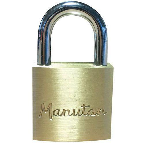 Lucchetto con chiave - Manutan
