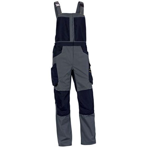 Pantaloni con bretelle spirit 60% cotone / 40% poliestere - 270 g/m²