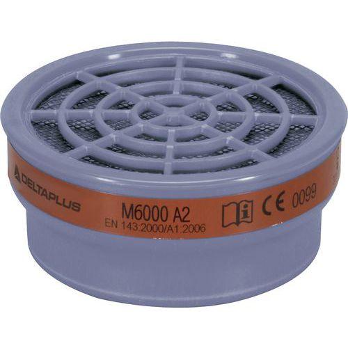 Kit di 2 filtri a2 per semi-maschere m6200-jupiter e m6400-jupiter