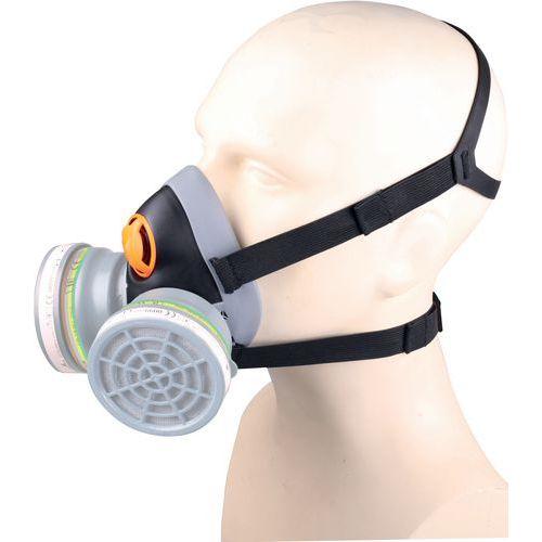 Semi-maschera in pp - supporto in termoplastica