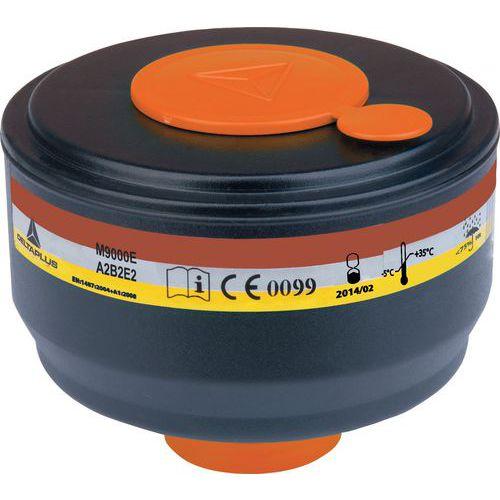 Scatola da 4 filtri a gas a2b2e2
