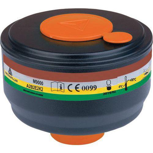 Scatola da 4 filtri a gas a2b2e2k2
