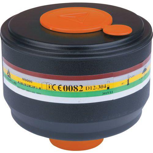 Scatola da 4 filtri a gas a2b2e2k2p3