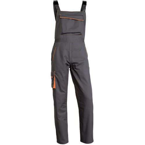 Pantalone con bretelle da lavoro panostyle® poliestere/cotone