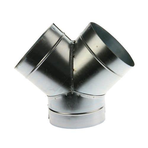 Derivazione a 45° per guaine di ventilazione rigide - Ø da 80 a 125 mm
