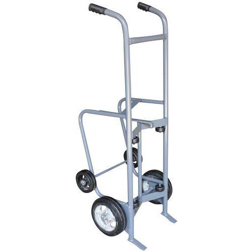 Carrello per fusti depallettizzatore- Portata 350 kg - Manutan