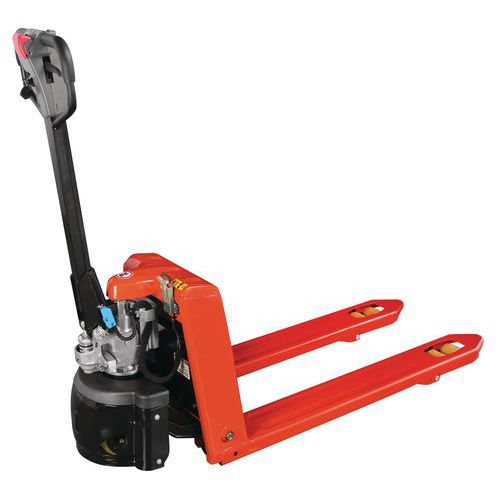 Transpallet semi elettrico ergonomico Capacità 1500 kg