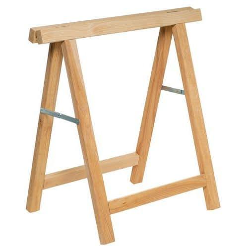 Cavalletto in legno - Pieghevole - Manutan Italia