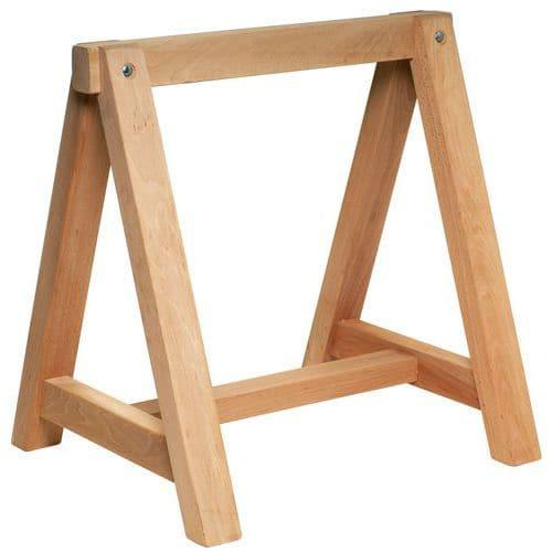 Cavalletto in legno - Fisso - Manutan Italia