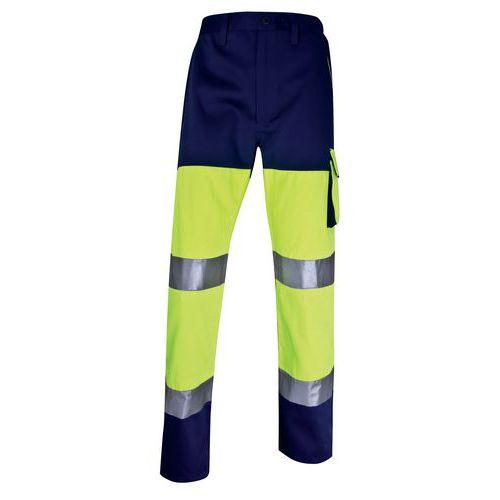 Pantalone da lavoro alta visibilità - Giallo