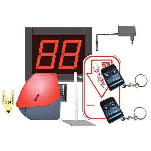 Apparecchio distributore di biglietti eliminacode senza fili - Pacchetto d'avvio