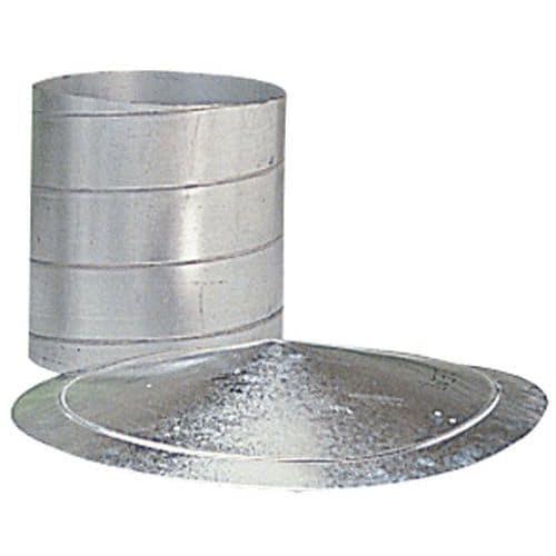 Pinza di serraggio monofilo per guaine di ventilazione - Ø da 80 a 125 mm