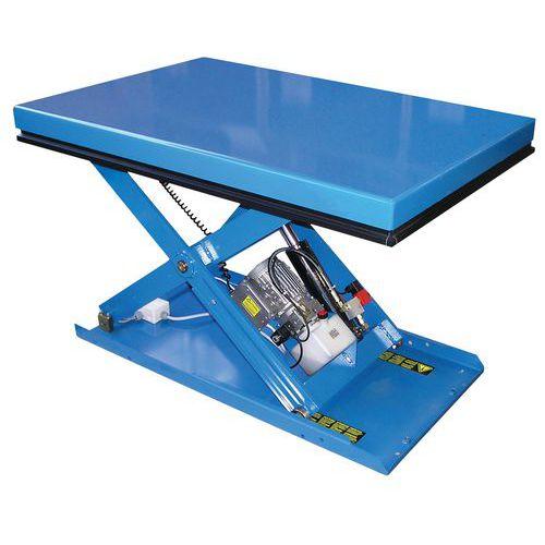 Tavola elevatrice ergonomica fissa EAX - Capacità da 500 a 2000 kg