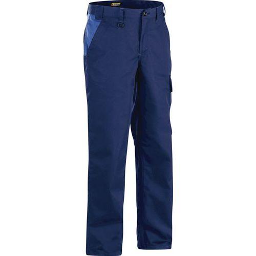 Pantaloni Industria  Blu marino/Blu savoia