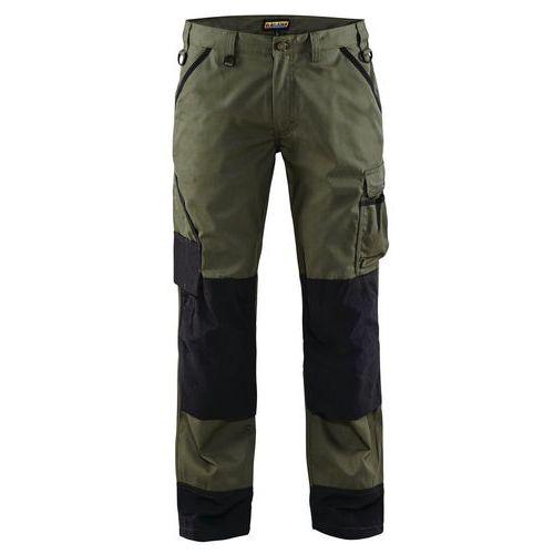 Pantaloni Garden Verde militare/Nero
