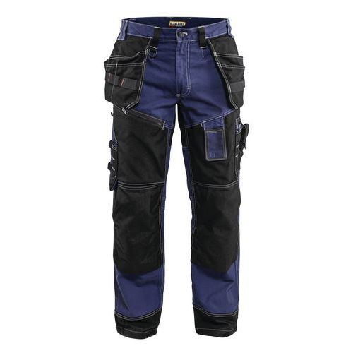 Pantaloni per artigianato X1500 Blu marino/Nero