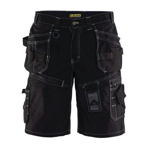 Pantaloni corti per artigiani X1500 Nero