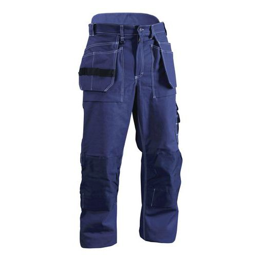 Pantaloni con tasche flottanti Blu marino
