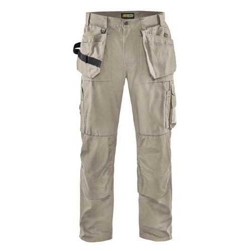 Pantaloni con tasche flottanti Nero