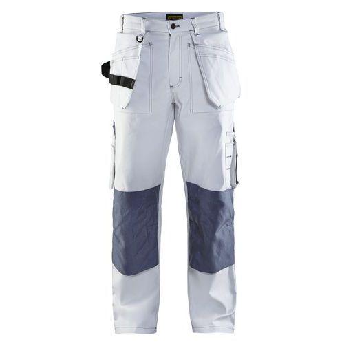 Pantaloni con tasche flottanti Bianco