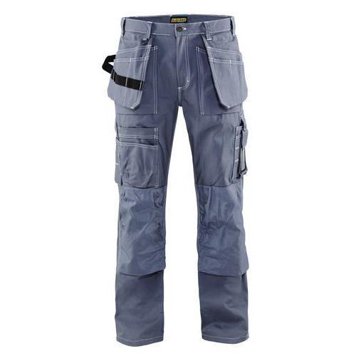 Pantaloni con tasche flottanti Grigio