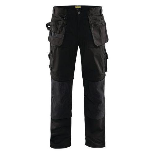 Pantaloni Zip Off con gamba staccabile Nero
