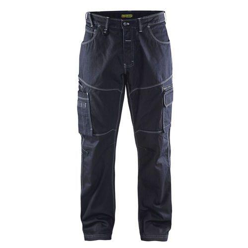 Pantaloni Denim X1900 Blu marino