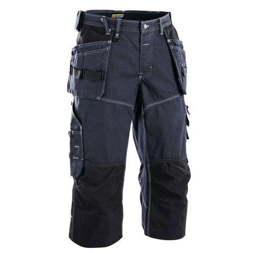 Craftsman pirat shorts X1900 Blu marino/Nero