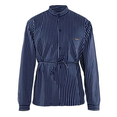 Camicia da carpentiere Blu marino/Bianco