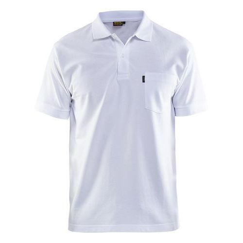 Maglietta Polo Bianco