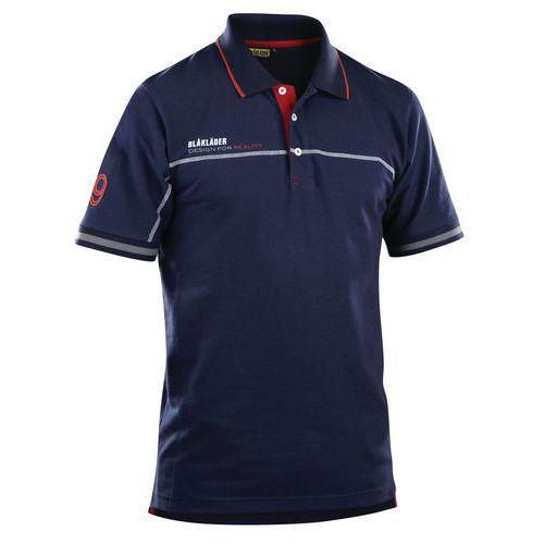 Branded Poloshirt  Blu marino/Rosso