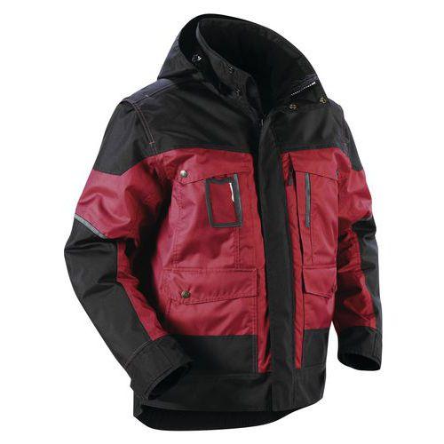 Giacca invernale Rosso/Nero