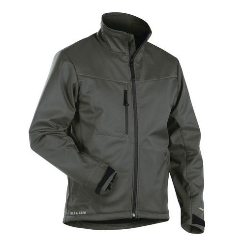 Giacca Softshell  Verde militare