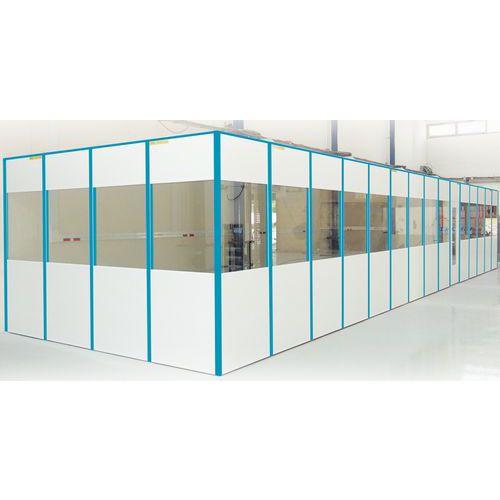 Raccordo per parete divisoria a parete semplice in melamminico - Altezza 2530 mm