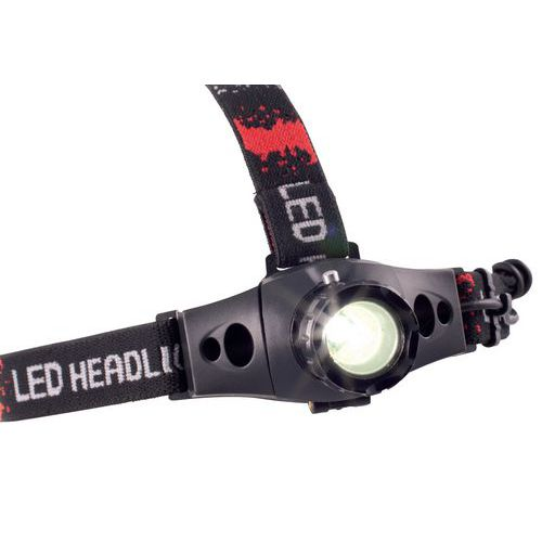 Torcia frontale LED CREE Q5 - 160 lm