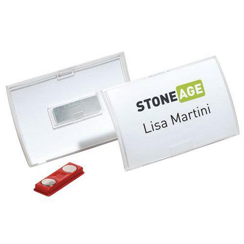Porta-badge Click Fold - Con magnete