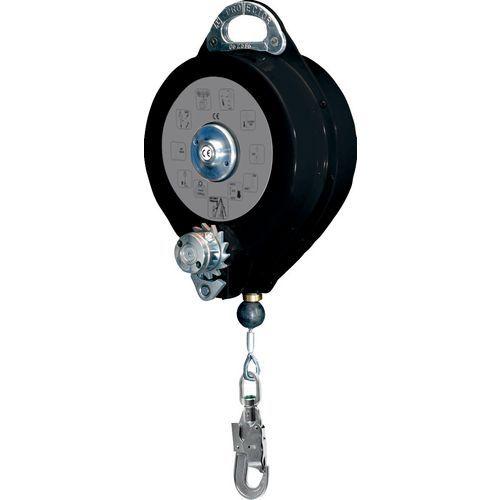 Anticaduta a richiamo automatico con cavo con verricello+1 am016 -20 m