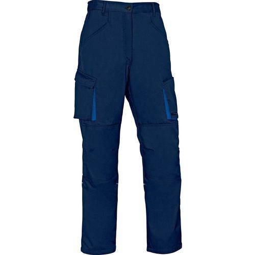 Pantaloni da lavoro mach 2 in poliestere/cotone - fodera flanella