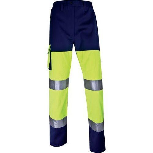 Pantaloni da lavoro alta vis. panostyle in poliestere/cotone