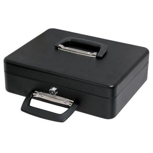 Cassetta per valuta con portamonete scorrevole - 300x230x90 mm