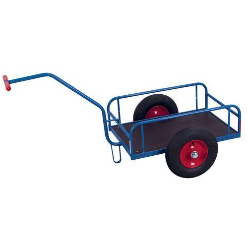 Carrello a spinta in tubolare d'acciaio - Capacità 200 e 400 kg