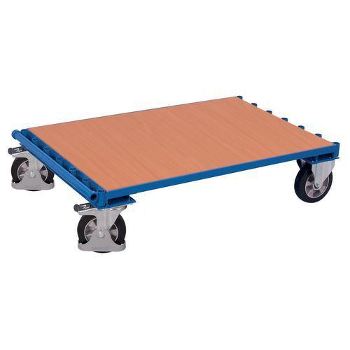 Carrello portapannelli ergonomico senza sponde - Capacità 1200 kg