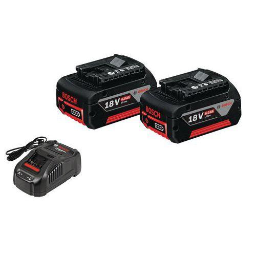 Confezione di batterie + caricabatterie senza filo Starter-Set