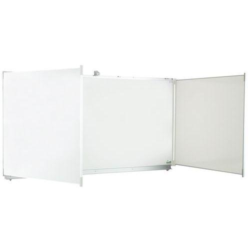 Lavagna bianca a 5 pannelli - Vanerum