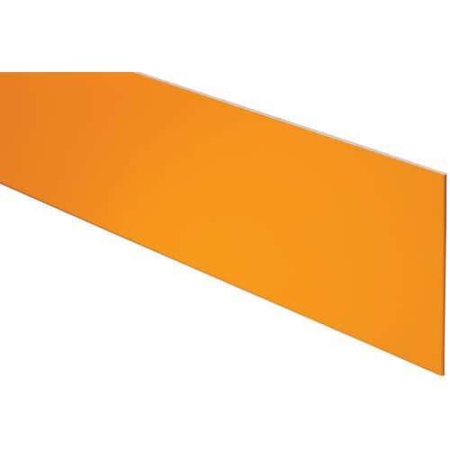 Profilo per alzata gradino da 10 in alluminio verniciato