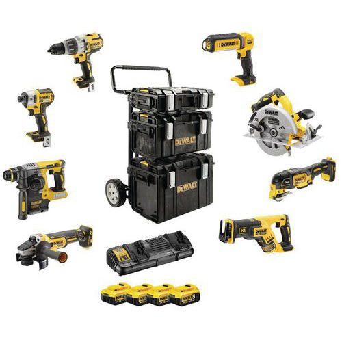 Kit Premium da 8 utensili, gamma XR - batteria agli ioni di litio 18V - 5Ah
