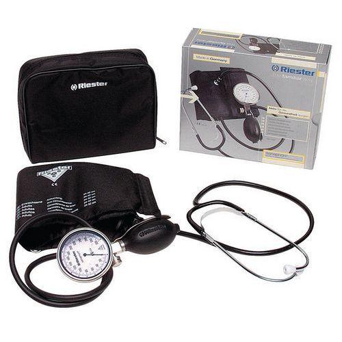 Sfigmomanometro con fonendoscopio