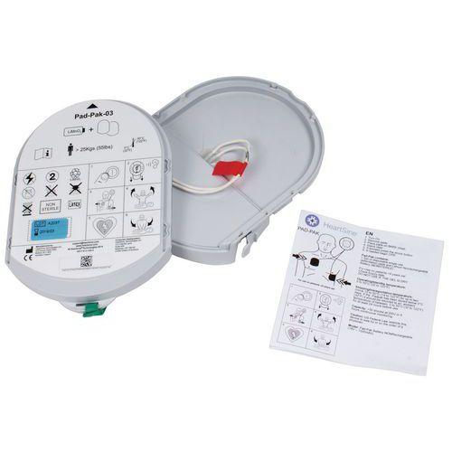 Elettrodi Pad Pack di sostituzione per defibrillatore Samaritan Pad 350P