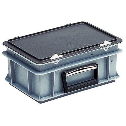 Contenitore-valigetta Rako con coperchio - Standard - Lunghezza 600 mm
