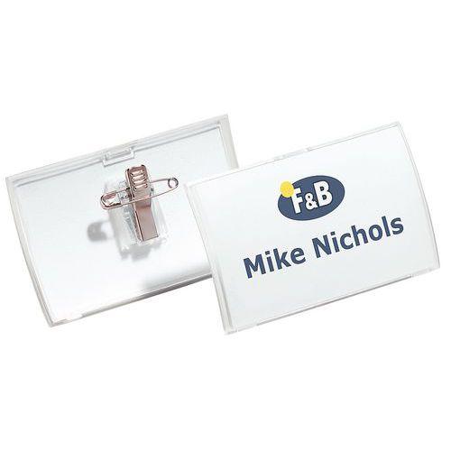 Porta-badge Click Fold - Con pinza Combi